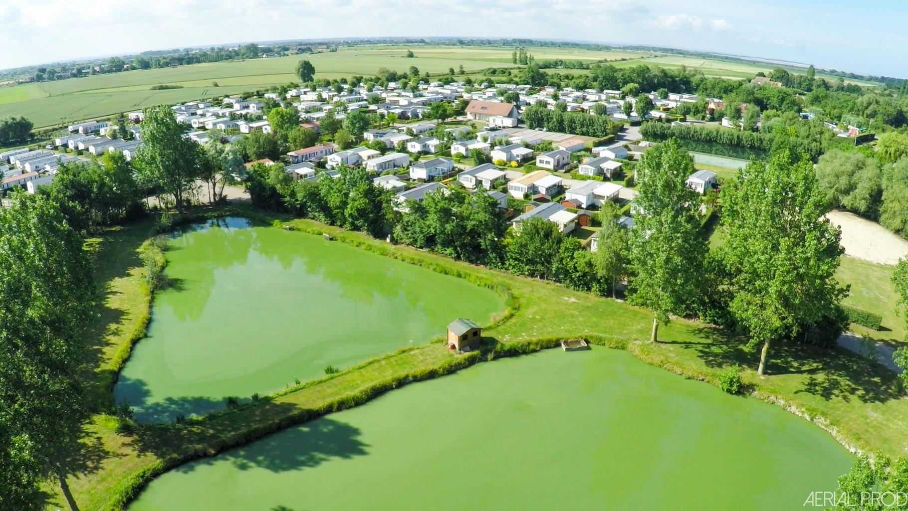campings avec étangs de pêche en Picardie