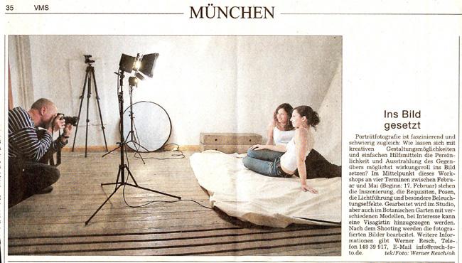 workshops presse werner resch fotodesign parsdorf. Black Bedroom Furniture Sets. Home Design Ideas