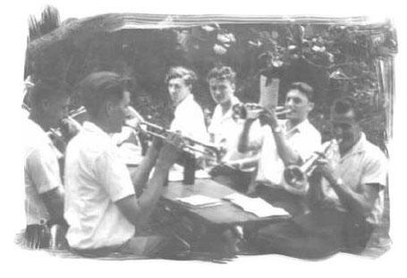 """""""Bach-Konzert"""" im Jahr 1961"""