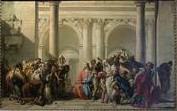 Giandomenico Tiepolo (1727-1806) Lw.112x179cm, Louvre
