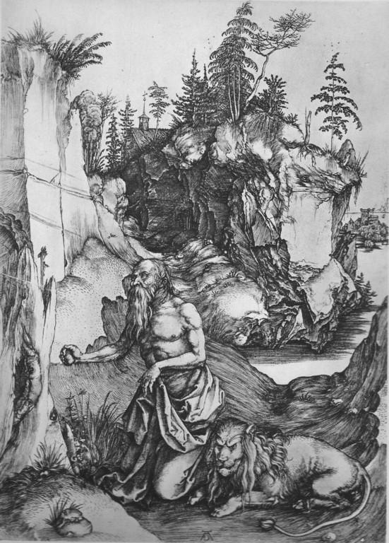 Albrecht Dürer (1471-1531), Hieronymus  1496/97