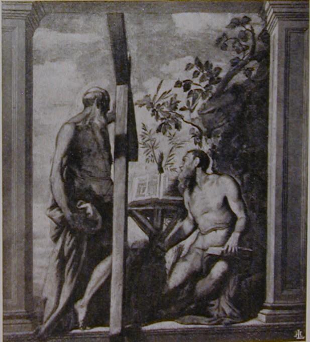 Andeas und Hieronymus vor der Formatrückführung 1937
