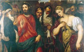 Giovanni Battista Lancetti (? Kopie nach Parrasio) Lovere, Galleria Tadini Lw.