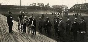 Vélodrome Barbieux in Roubaix 1912