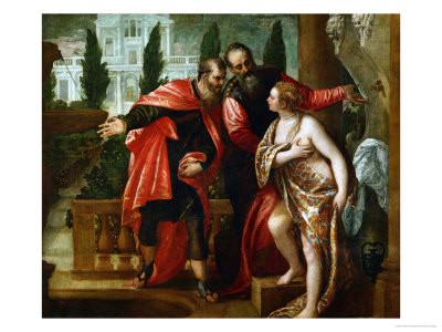 Paolo Veronese e Bottega, Susanna, Madrid Prado