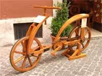 "Bicicletta ""Leonardo"" Nachbau"