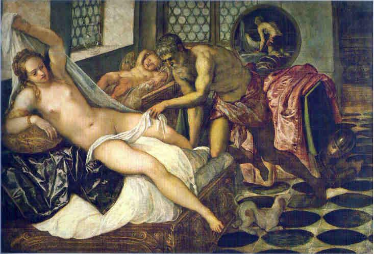Tintoretto, Venus Vulkan und Mars, Pinakothek München (2)
