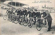 Vélodrome Parc des Princes 1910