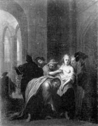 Johann Conrad Seekatz(1719-1768), Gemäldesammlung Mainz (Holzt.31x24cm) 1753-55