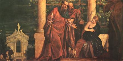 Paolo Veronese, Susanna ca.1580, Wien KHM