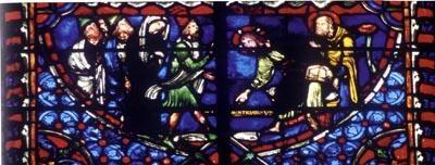Cathédrale de Troyes (4.Wand, Fenster 9&10) 1210-20