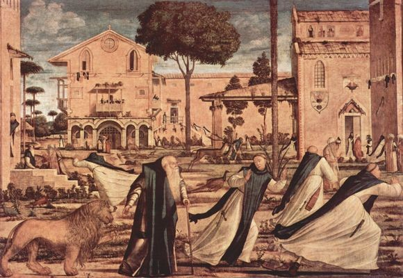 Carpaccio (1465-1525), Hieronymus-Legende 1502, San Giorgio dei Schiavoni