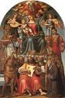 Luca Signorelli (1441-1523), Pala di San Girolamo 1519, Arezzo, Mus.d.med.e mod.