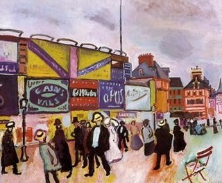 Raoul Dufy (1877-1953), Plakatwände in Trouville 1906