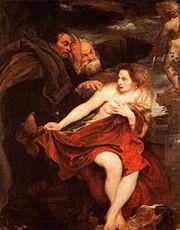 Antonius van Dyck, Susanna 1621-22, München, alte Pinakothek