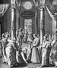 "anonymer Illustrator v. Jerome Nadal's ""Evangeliae Historiae Imagines"" 1593"
