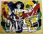 Fernand Léger(1881-1955), les quatres cyclistes 1943-48