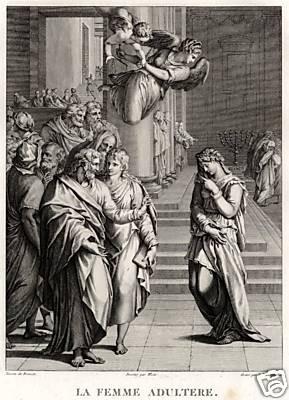 """nach A.Allori (""""Bronzino"""") Nachstich, 20x15cm von 1798"""