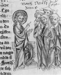 Schaffhausener Lektionar um 1330 (ms.gen.,8 fol.198)