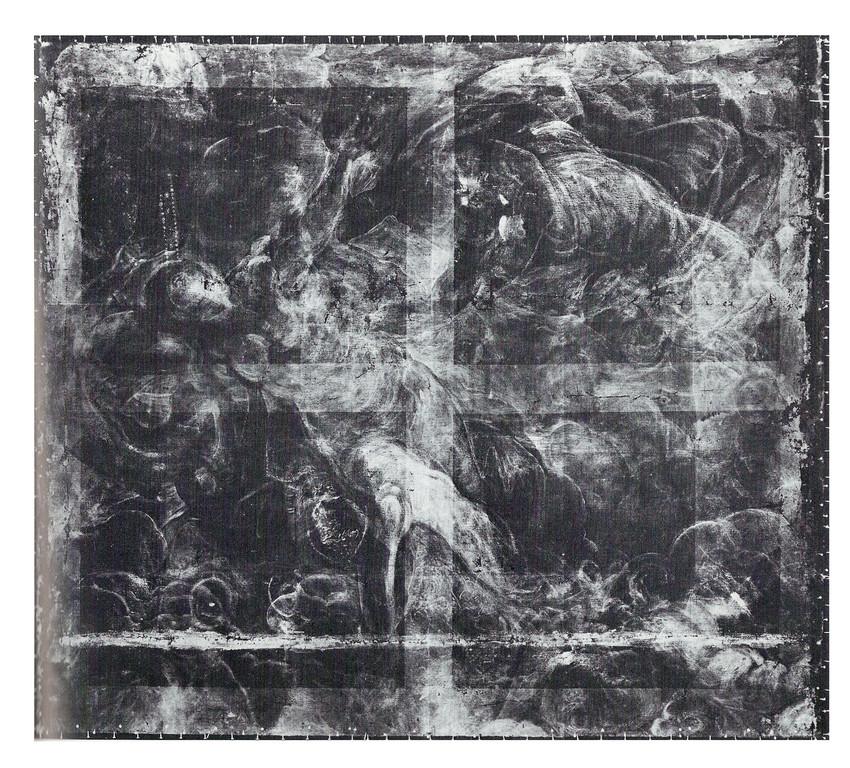 Geburt der Milchstrasse, London Nat.Gall., Radiographie
