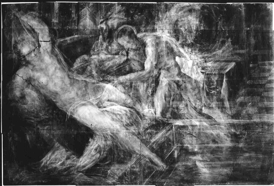 Venus, Vulkan und Mars, München, Radiographie