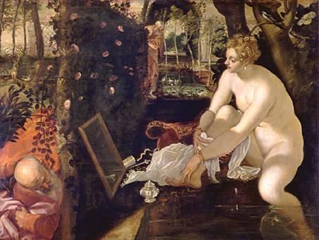 Jacopo Tintoretto, Susanna, Wien, KHM