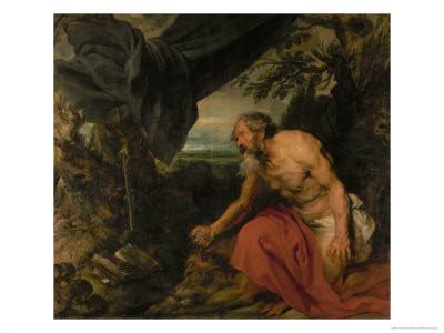 Antonius van Dyck (1599-1641), Hieronymus 1625-27