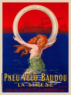 Cappiello, Poster Pneu Velo Baudou 1908