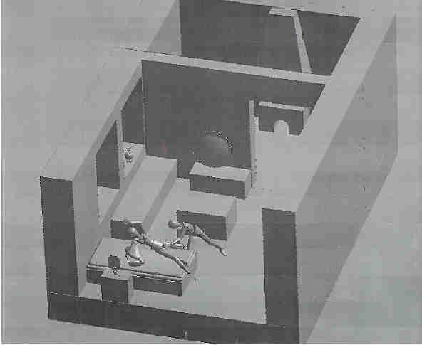 idem 2 Nachbau des Raummodells am Computer