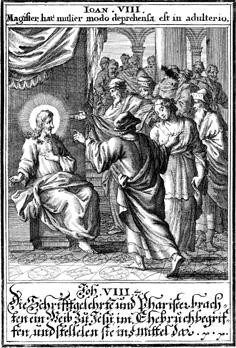 "Johann Christoph Weigel Ill. ""Biblia ectypa"" 1695 E. in drei Phasen:1) Herbeiführung"