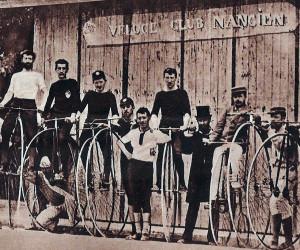Fahrradrennen 1883 in Nancy