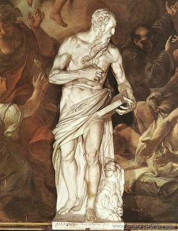 Alessandro Vittoria (1525-1608), San Girolamo 1565, Venezia, Frarikirche