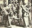 """Julius Schnorr von Carolsfeld (1794-1872)  Ill. zur """"Bibel in Bildern"""" 1851-60"""