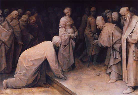 "Pieter Breughel d.Ä.(1520-1569), Samml. A.Seilern, London ,""BRVEGEL MDLXV"""