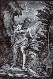 Giuseppe Scolari (wohl nach 1565 in Anlehnung an Vittoria) Holzschnitt