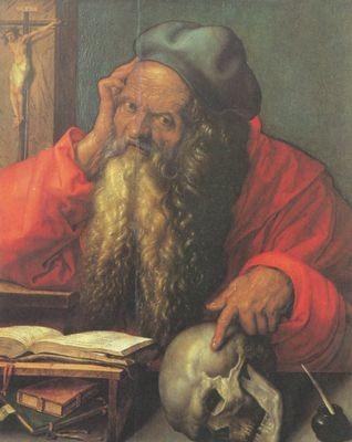 Albrecht Dürer (1471-1528), Hieronymus 1521, Lissabon, Museu de Arte Antigua