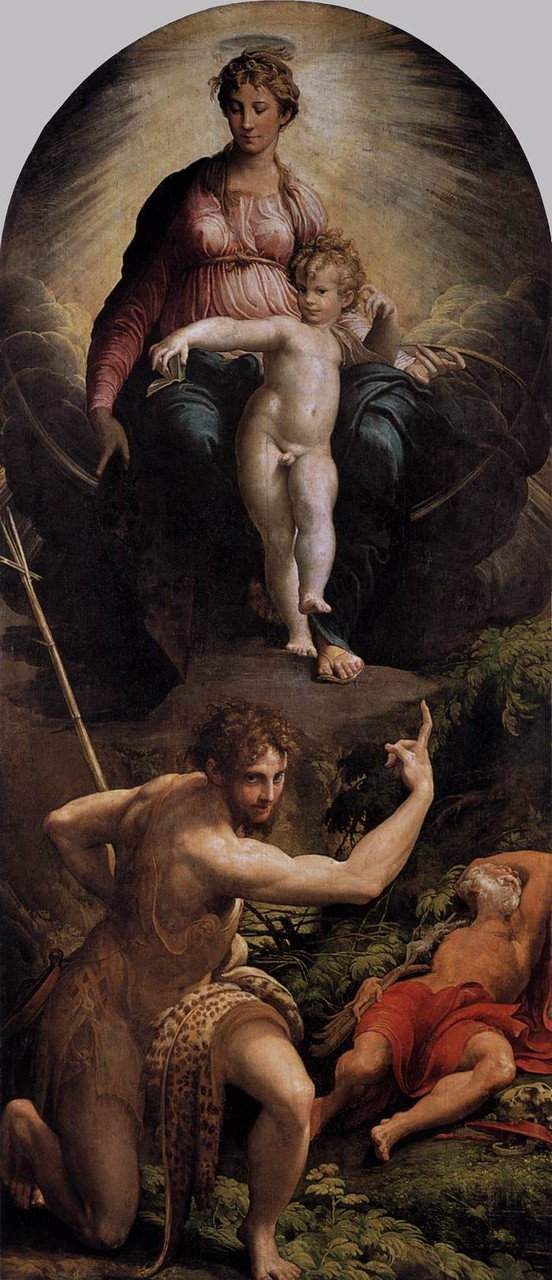 Parmigianino, la visione di San Girolamo London, Natinal Gallery