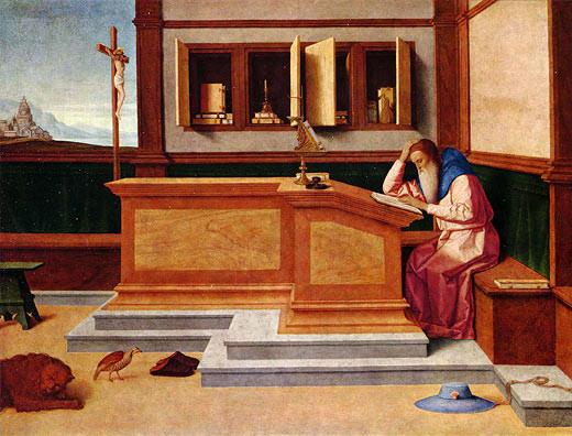 Vincenzo Catena (1470-1531), San Girolamo, London, National Gallery