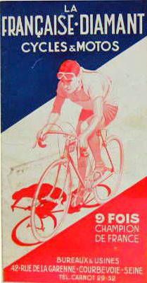 Plakat der societé La Française
