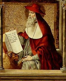 Pedro Berruguete (1450-1503), Hieronymus, Thomasaltar in Avila