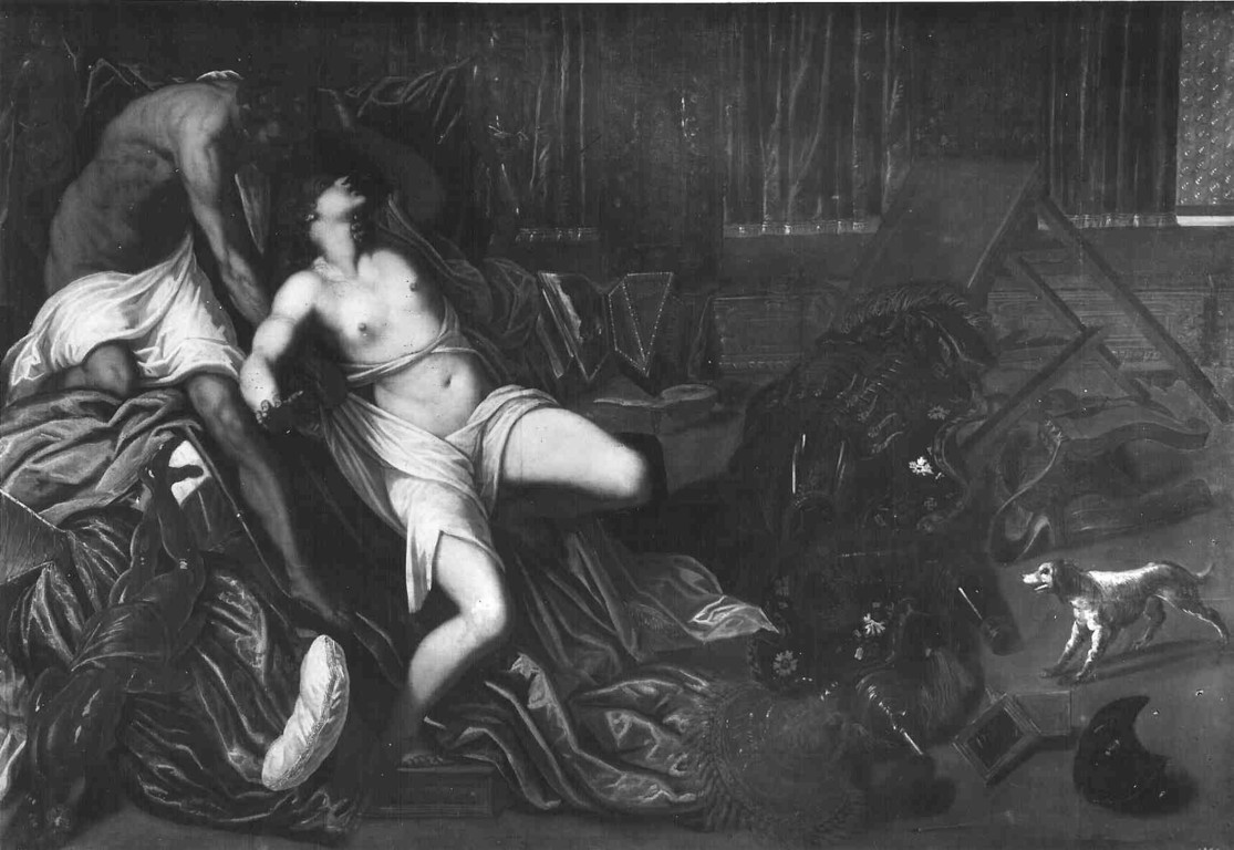 Werkstatt Tintorettos, Tarquin und Lukrezia , Prado Madrid