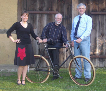 Feiningers Fahrrad auf Usedom ausgestellt