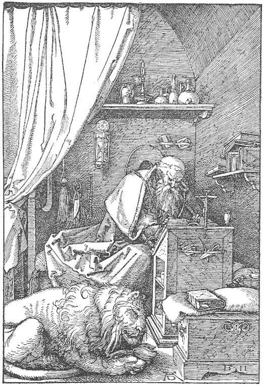 Albrecht Dürer (1471-1531), Hieronymus 1511
