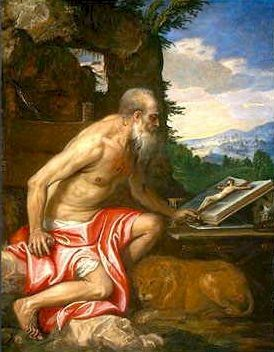 Paolo Veronese (1528-1588), San Girolamo 1565, Washington NG Kress Coll.
