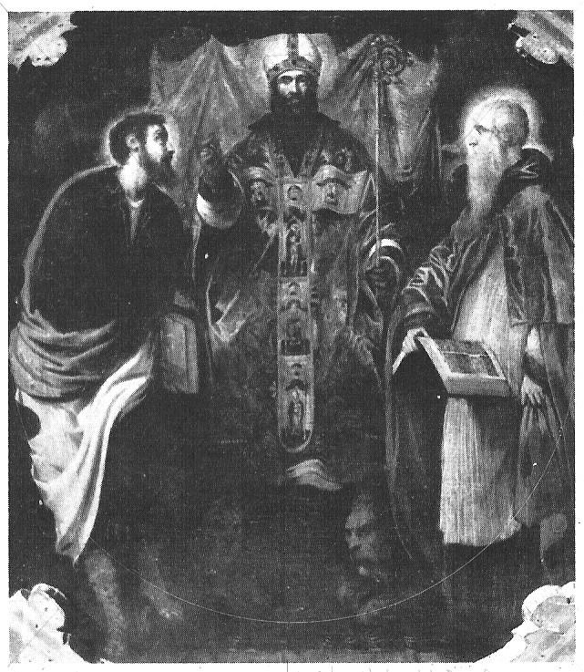 Tintoretto, Markus,Bartholomäus,Hieronymus Curzola(Kroatien) um 1549, Kathedrale