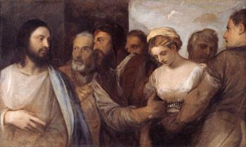 """Tizian"", Kunsthist.Museum Wien (Lw.82,5x136,5cm) um um 1512/15"