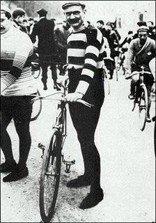 Tour de France 1903: die Farbigkeit der maillots