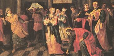 Andrea Lusso (aktiv um 1600 in Sardinien), Adultera