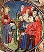 Stundenbuch Kö.Bibl.den Haag (KB.16 G 14)  1470-75 Miniatur im Detail