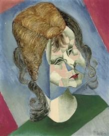 Jean Metzinger, Tochter Odette 1912/14 Christies lot 198, 24.6.2011